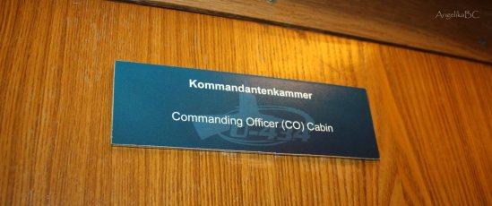Kommandantenkammer Tur